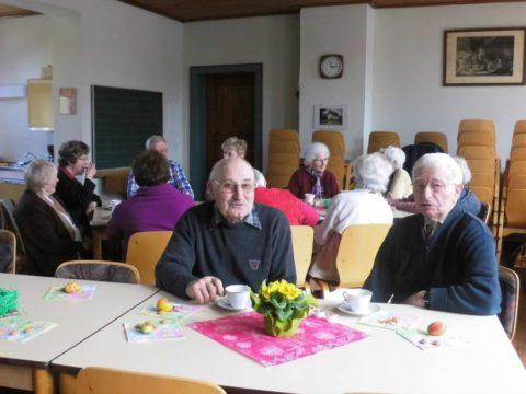 1. Mittwochs-Treffen der Senioren am 01.04.2015,im Gemeindehaus