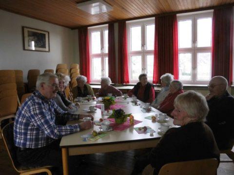 1. Mittwochs-Treffen der Senioren am 01.04.2015 im Gemeindehaus
